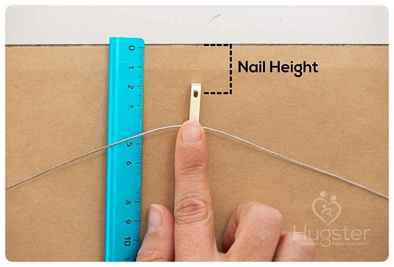 Showing the Nail Height