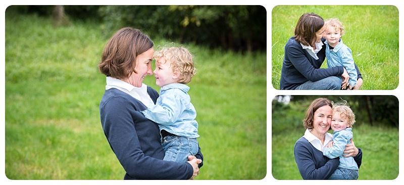 Mum and baby boy