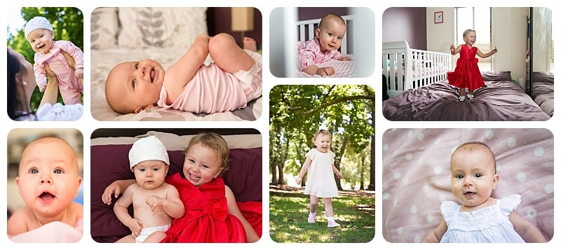 Cute kids portraits