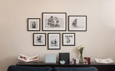 How to hang your framed wall collection